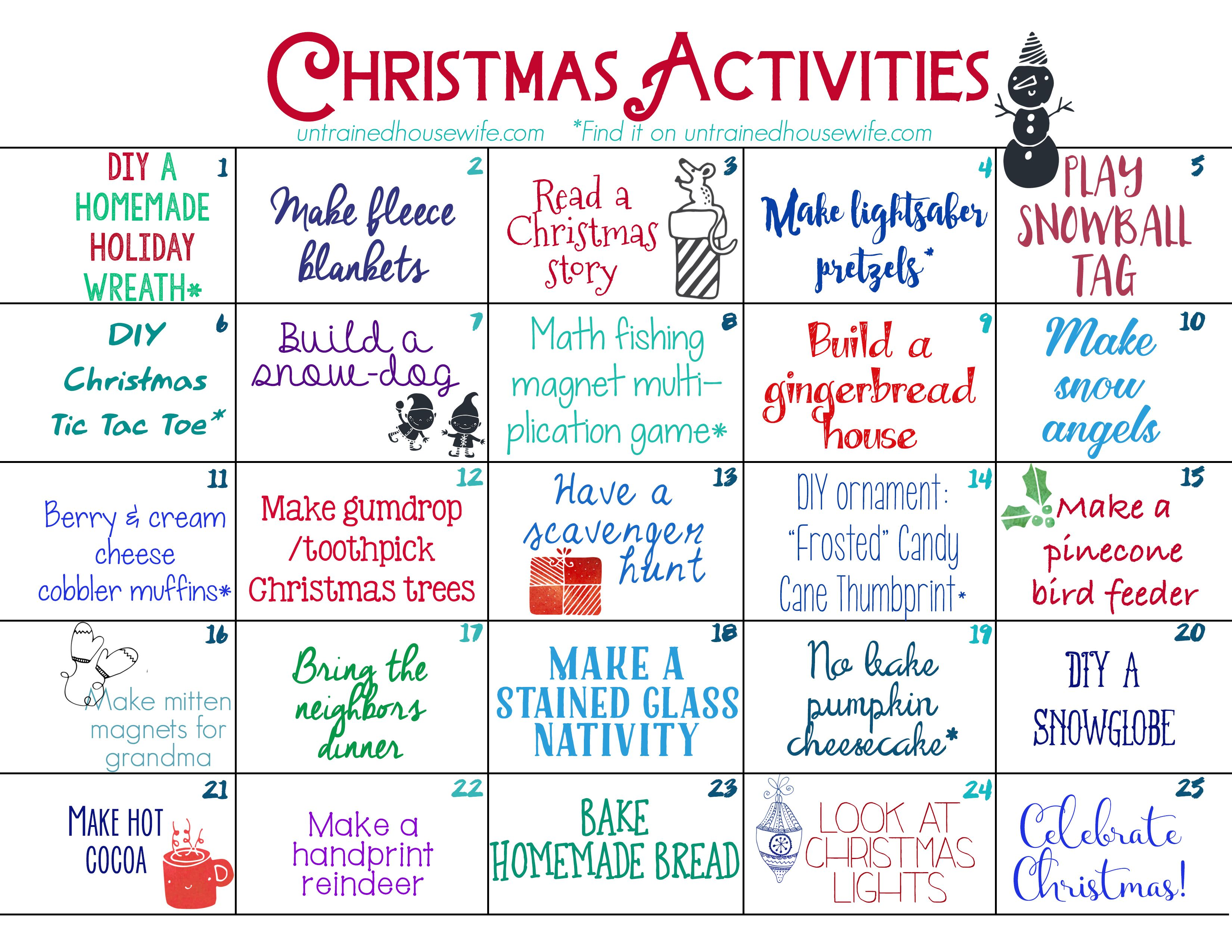 Untrained+Housewife+Family+Activities+Advent+Calendar+
