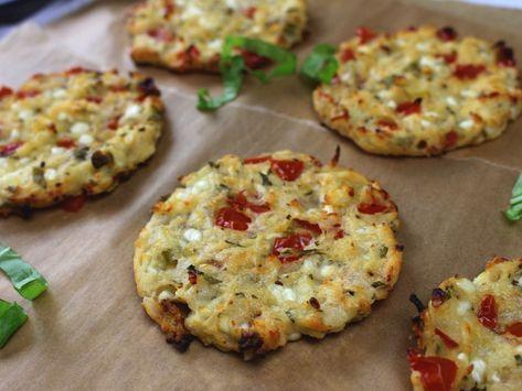 Hüttenkäsetaler mit Tomate und Kräutern | Christinas-Fitlife Rezepte