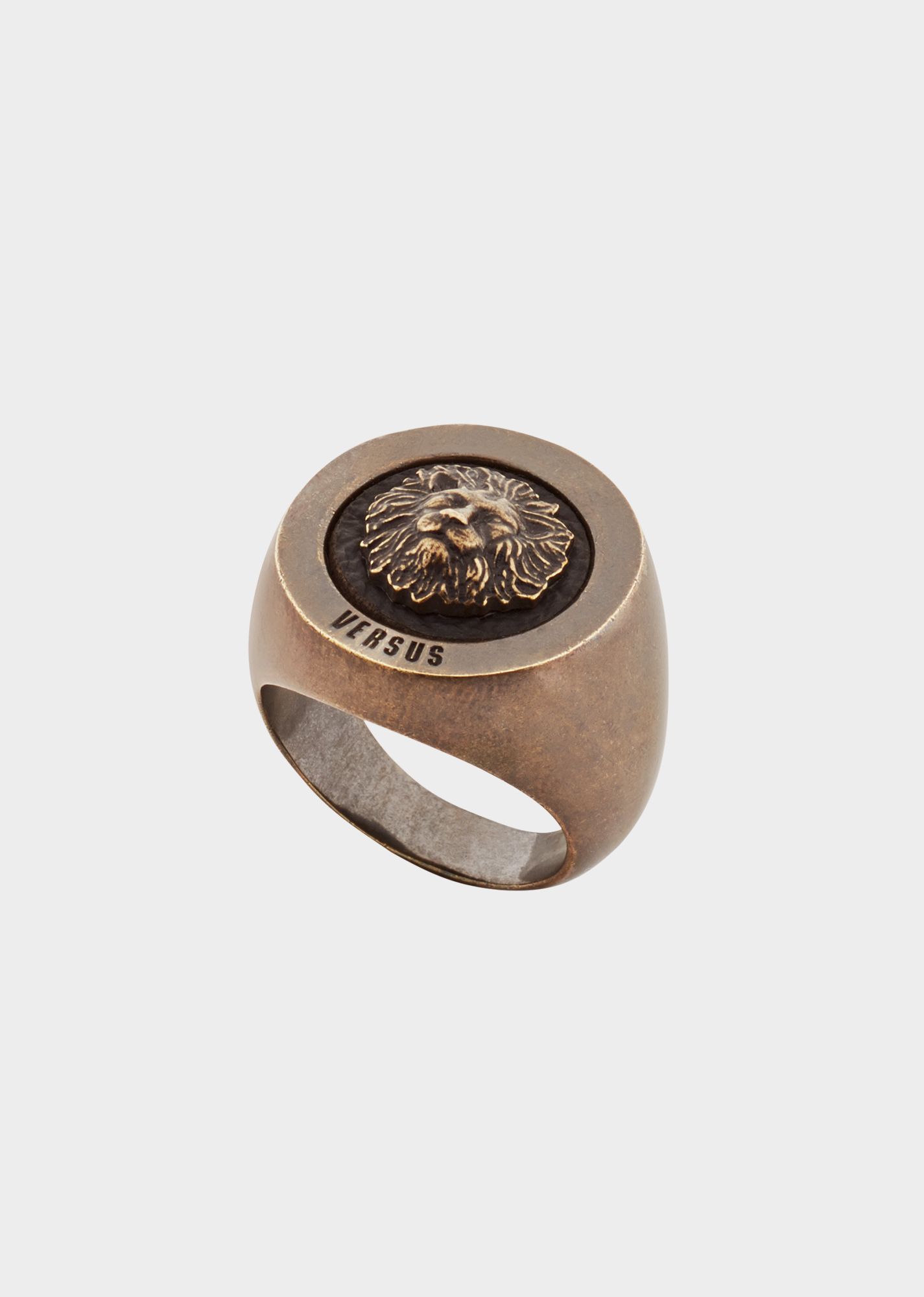 17fcb8ccf Lion Head Leather Inlay Ring - F41OA Accessories | Accessories ...