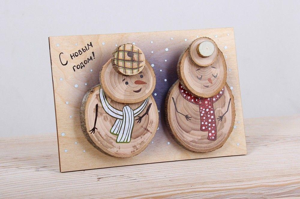 Картинка, деревянные открытки самара