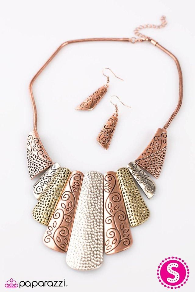 "/""Untamed/"" Multi-color Necklace Set By Paparazzi"