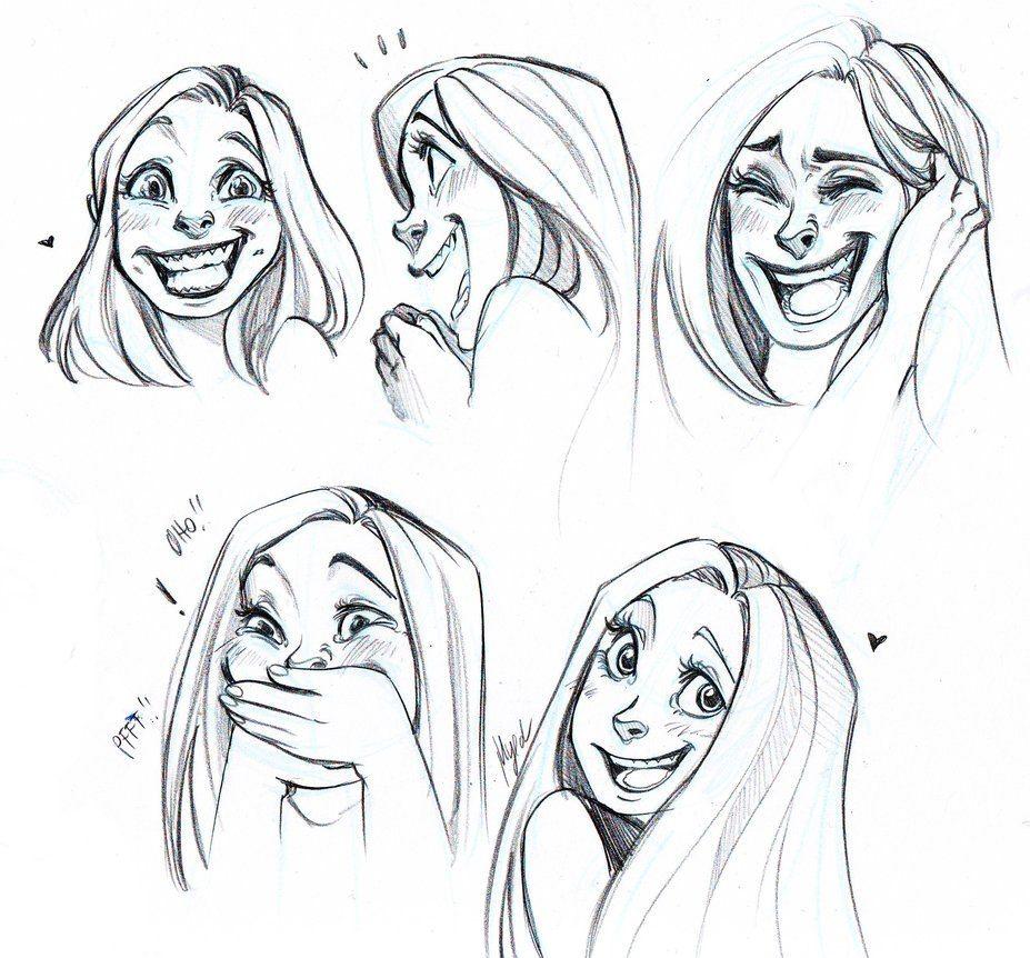 Эмоции человека рисунок карандашом радость