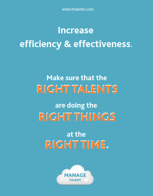 quote manage talent increase efficiency