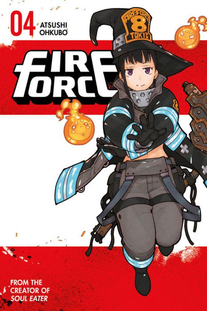 Fire Force Manga Volume 4 Manga covers, Manga, Fire