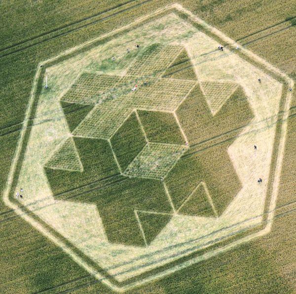 Crop Circles: Art or Vandalism?