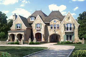 Floor Plans English Manor VanBrouck & Associates
