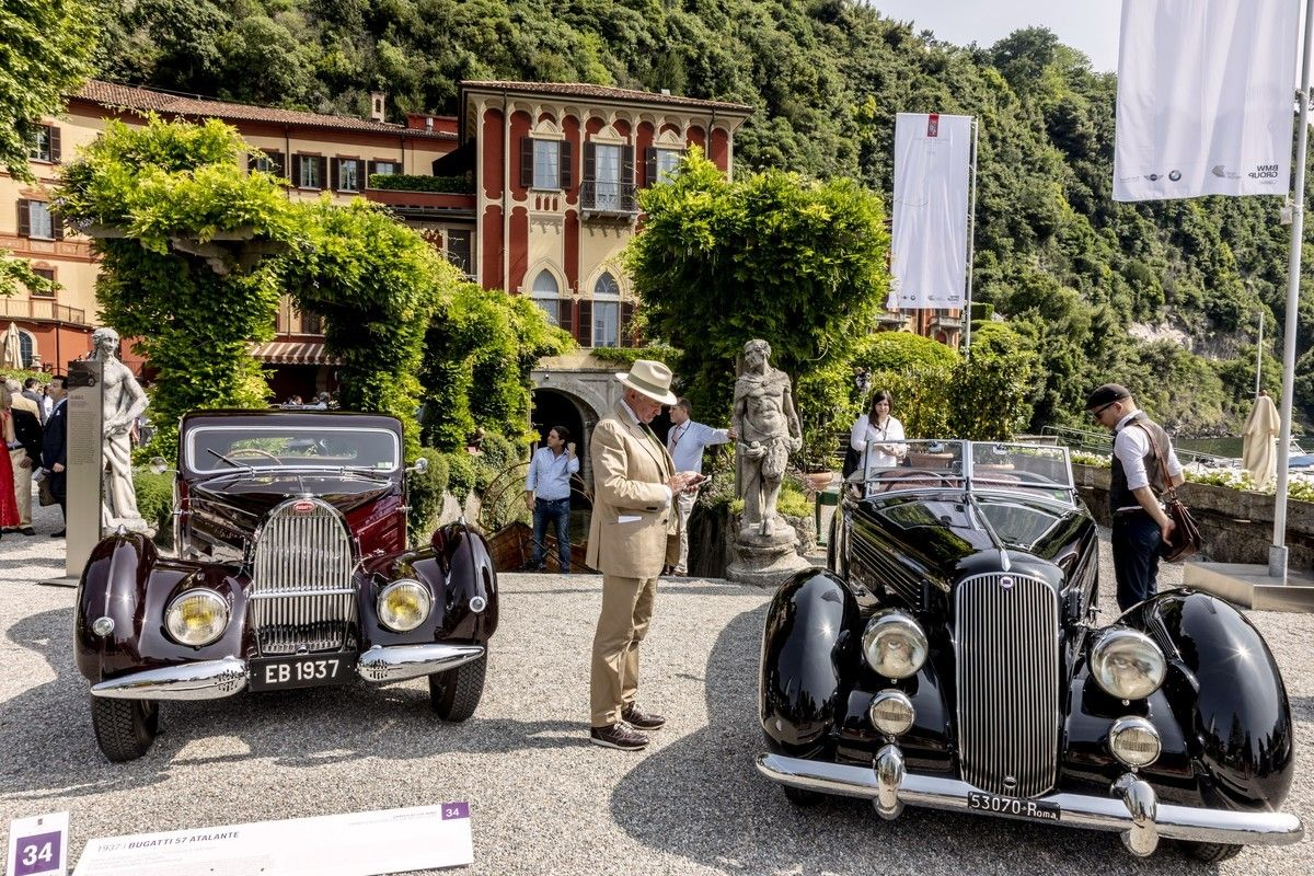 Los autos más exclusivos e impactantes del planeta, juntos a orillas del Lago de Como