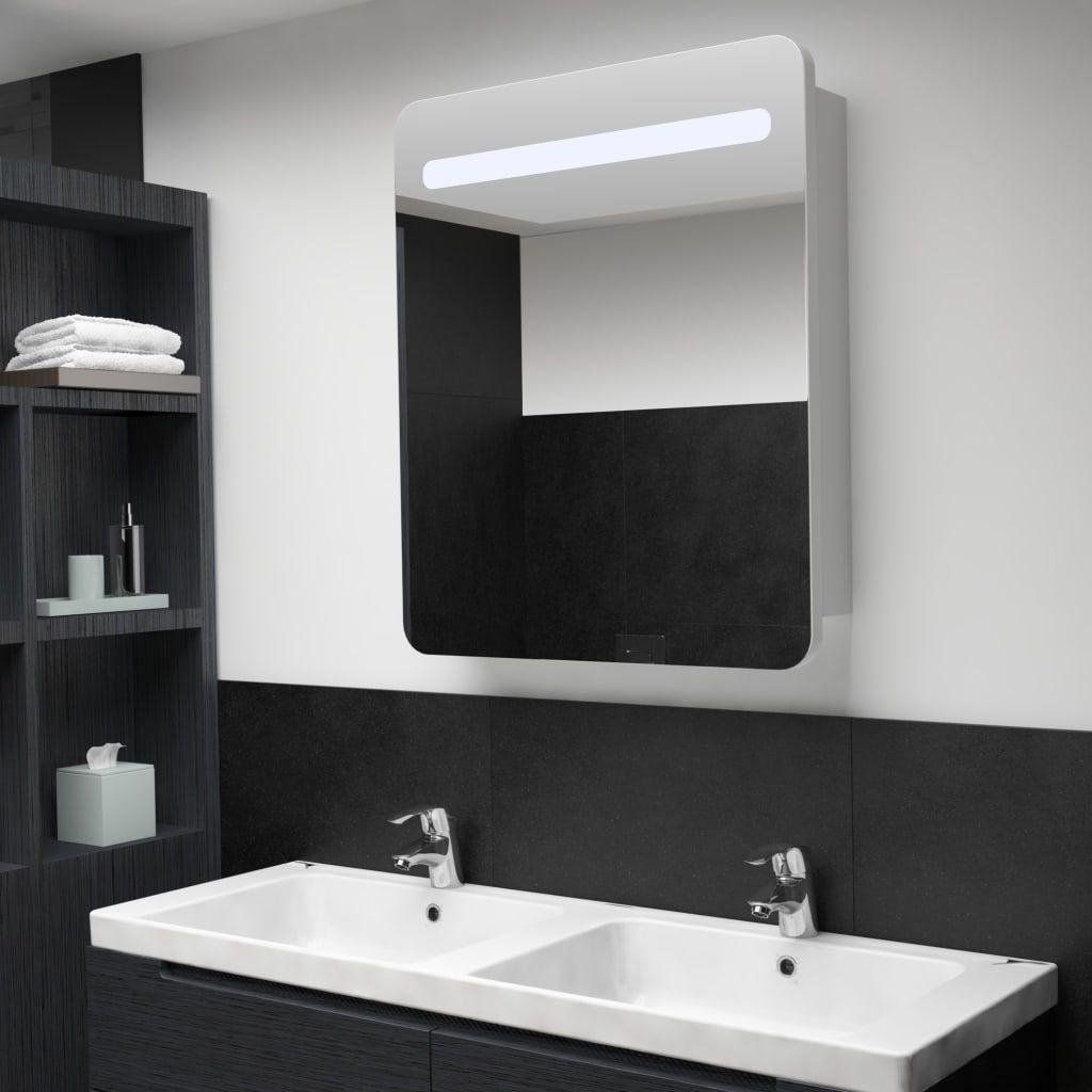 Vidaxl Led Bad Spiegelschrank 68 X 11 X 80 Cm Konnen Diese Eine Asthetische Postanschrift In Ihr Mineralquelle Mit In 2020 Spiegelschrank Badezimmerspiegel Badspiegel