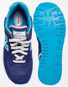 new balance 574 femme bleu marine