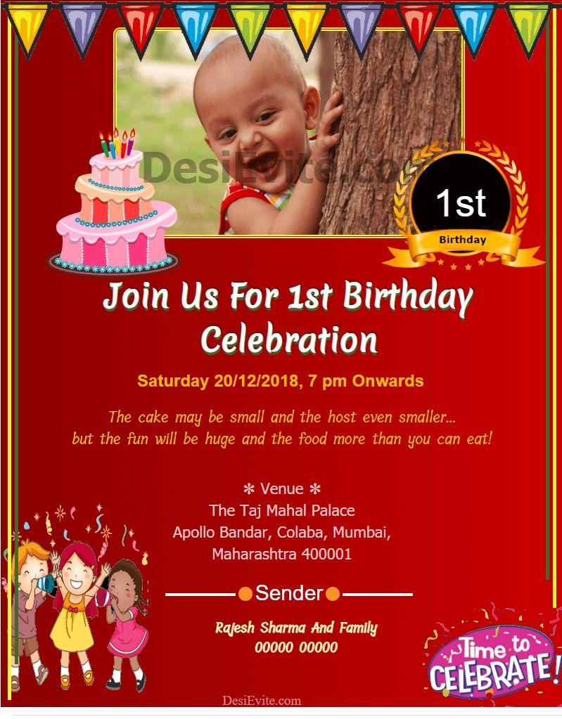 pin desievite admin on birthday invitation card maker Birthday