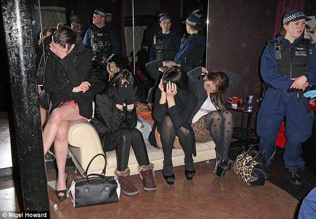 brothels and sex shops raided in major police crackdown in. Black Bedroom Furniture Sets. Home Design Ideas
