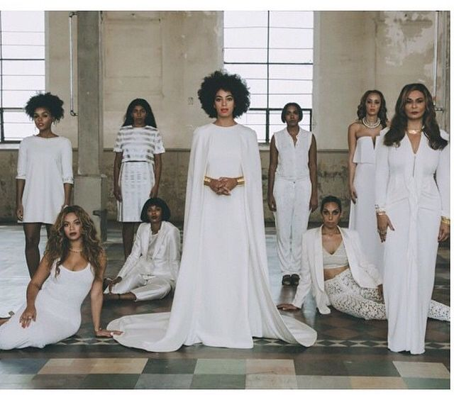 Cheap Wedding Dresses New Orleans: Bridesmaid: Janelle Monae Maid Of Honor: Beyonce #Solange