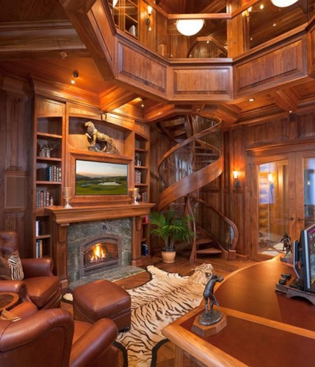 Staircase Design, Log Homes, House