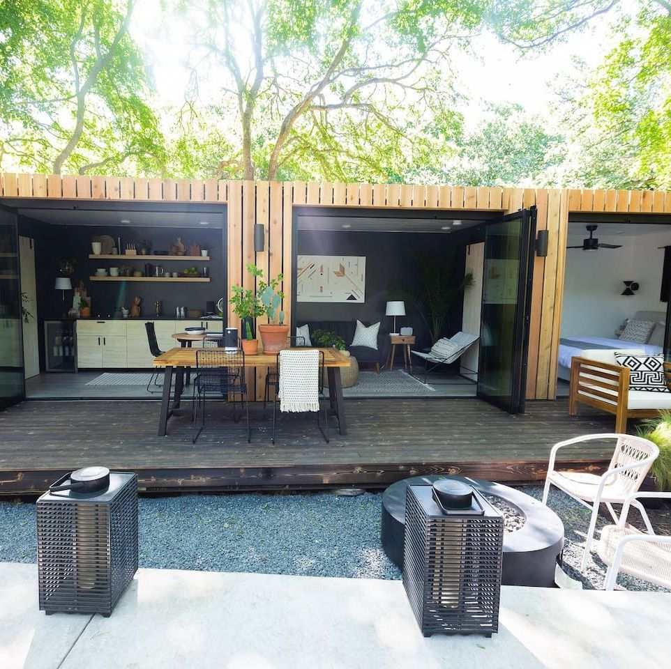 Jojo Fletcher and Jordan Rodgers Renovated a Rusty Old Shipping Container—And It's Available on Airbnb