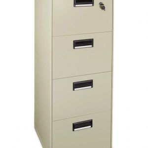 Narrow Lockable Filing Cabinets