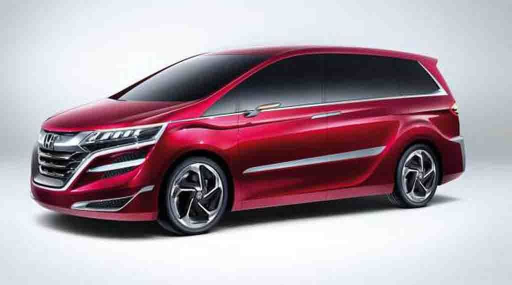 History Of Honda Odyssey Starts In 1994 This Compact And Economical Minivan Has Found A Lot Of Fans Those Pe Honda Odyssey Konzeptfahrzeuge Minivan