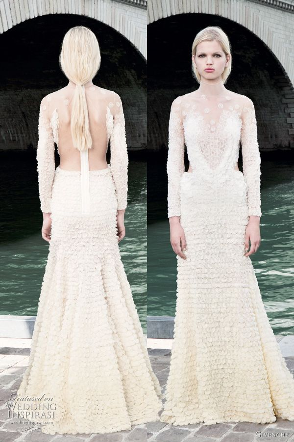 Givenchy Fall 2011 Couture Collection Wedding Inspirasi Wedding Dress Couture Wedding Dresses Givenchy Wedding Dress