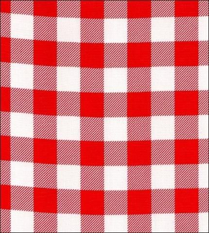 red cafe check oilcloth fabric oilclothalleycom oilcloth oilclothfabricbytheyard oilclothalley - Red Cafe Ideas