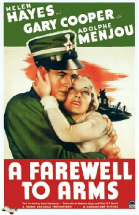 'A Farewell To Arms' 1932
