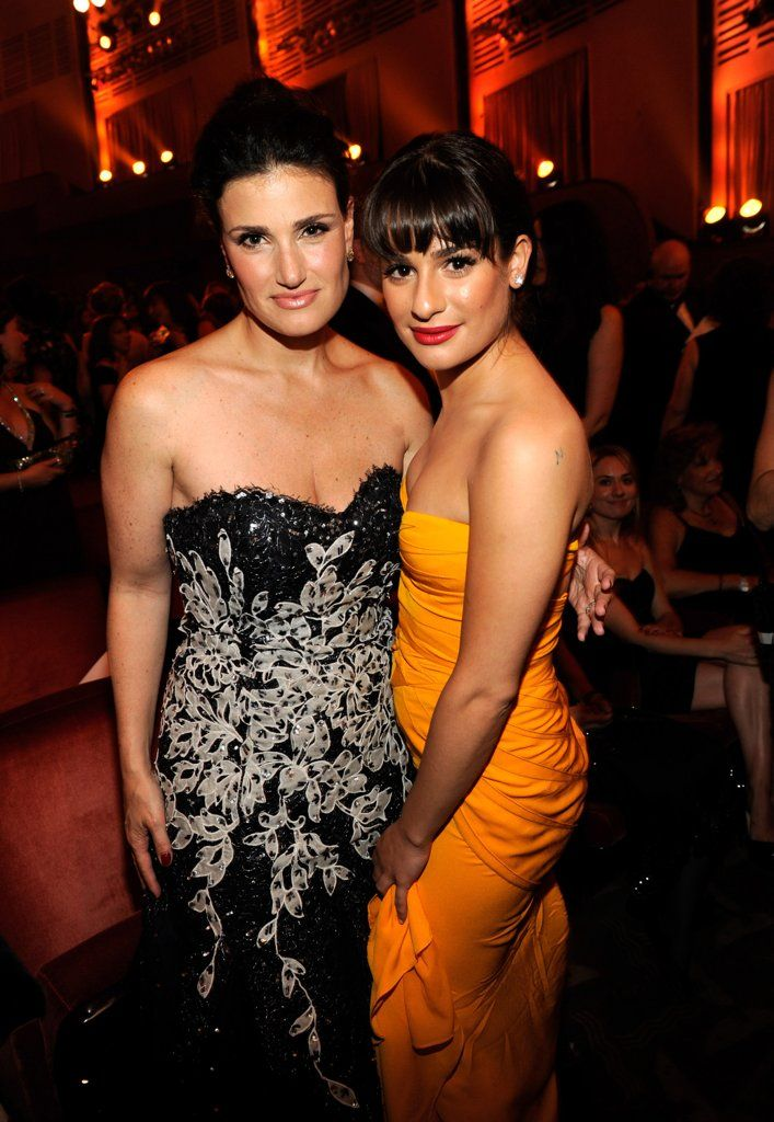 Pictures of Lea Michele With Celebrities   POPSUGAR Celebrity