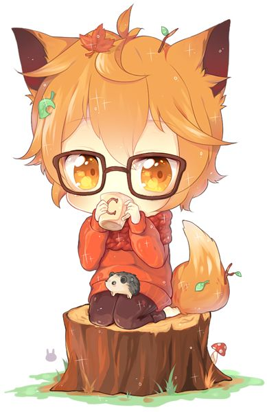 Pin By Lymi Llp On Fox Cute Anime Chibi Anime Chibi Kawaii Chibi