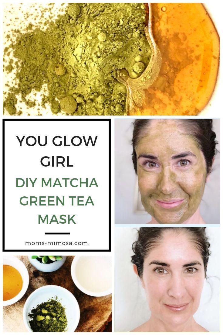 Homemade Matcha Green Tea Face Mask Green tea face