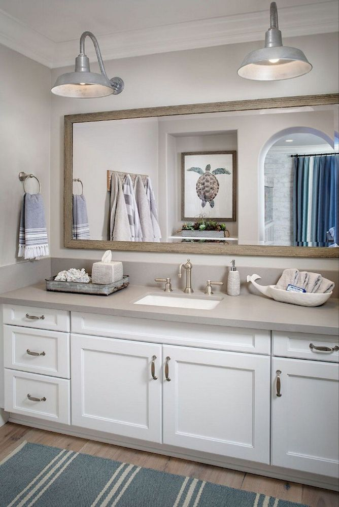 34 amazing coastal style nautical bathroom designs ideas