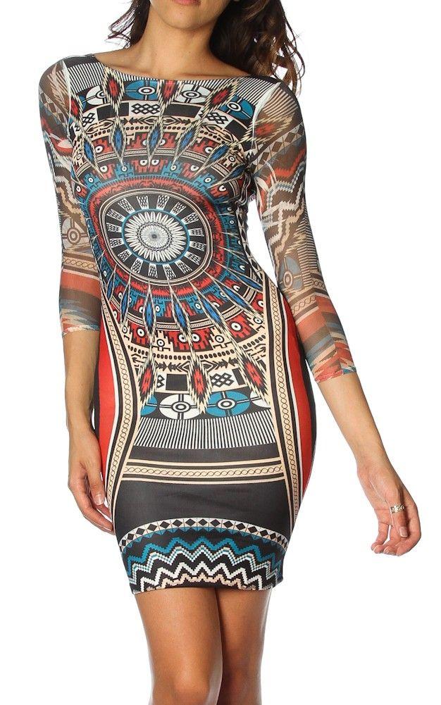 Love the Aztec print.