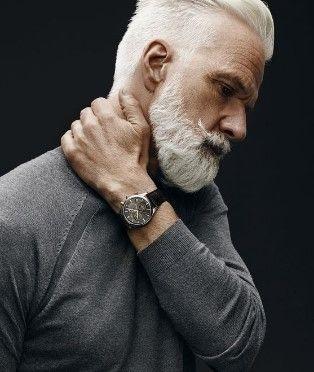To Keep Gray Beard Styles Looks Good,beard Styles 2018,gray Beard Styles  Black