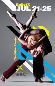 balletx dance poster