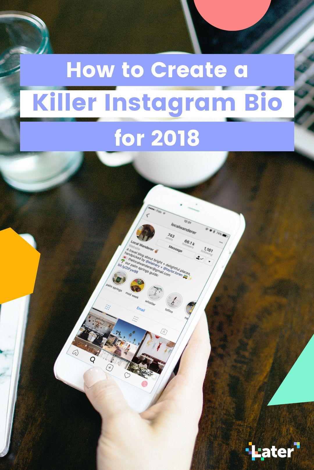 How To Create A Killer Instagram Bio Free Worksheet