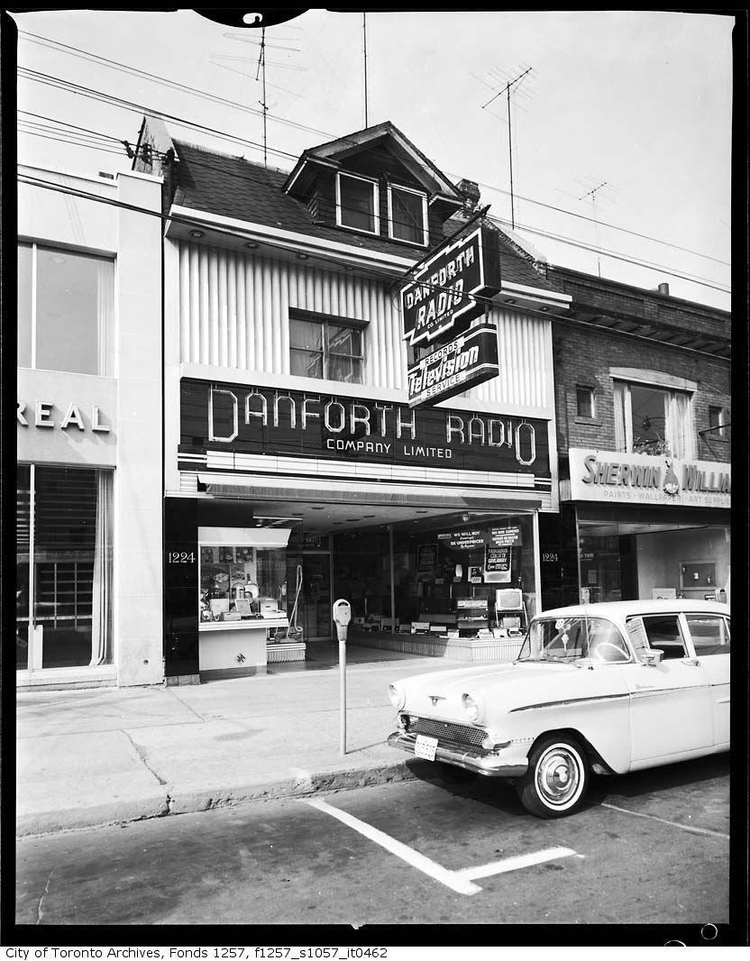 50s shopfront city vintage photos store front
