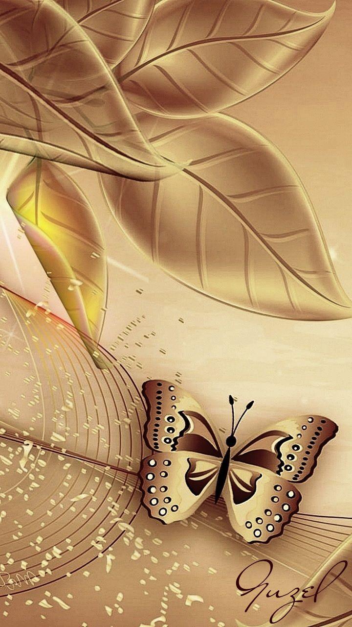 Wallpaper By Artist Unknown In 2019 Butterfly