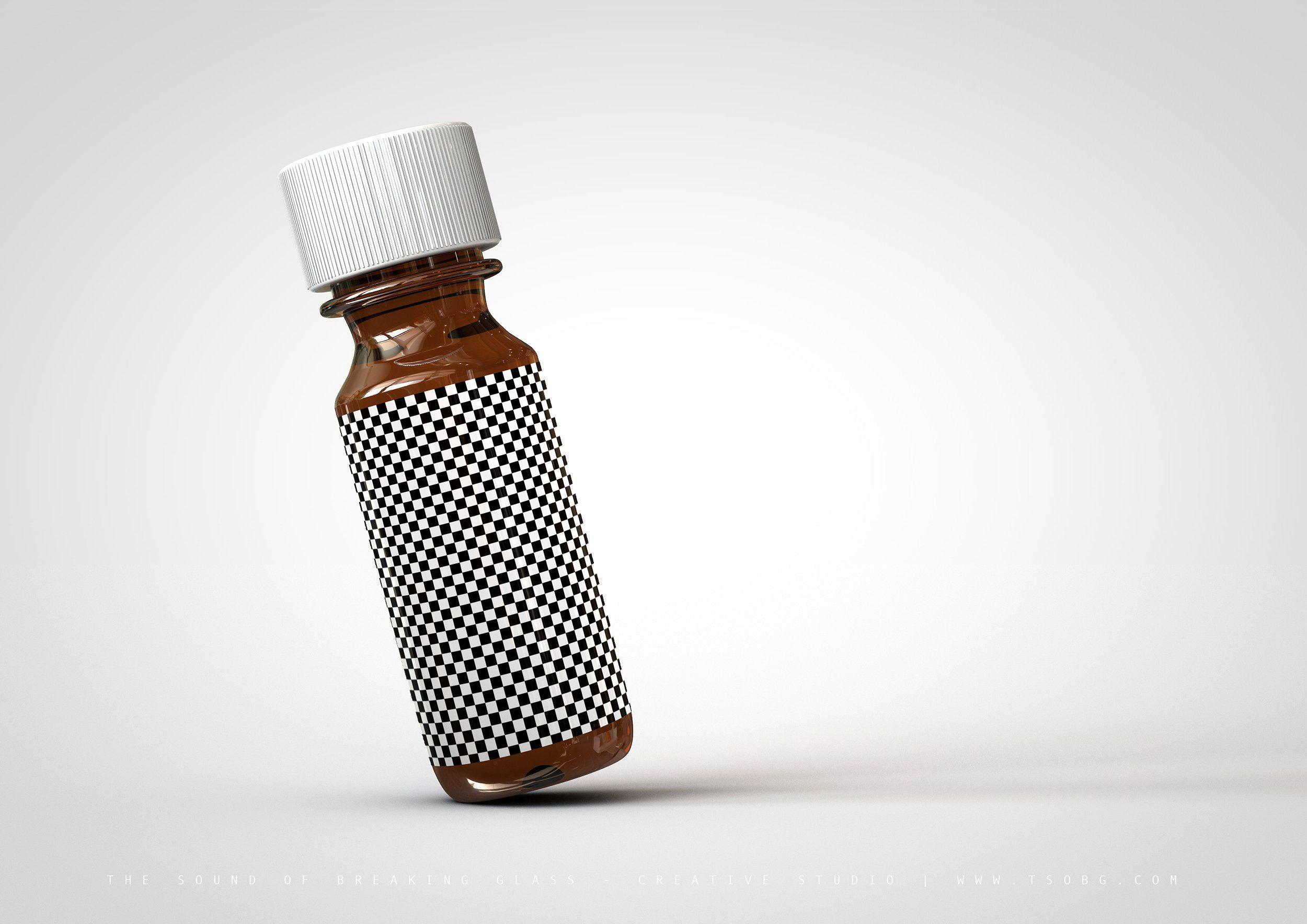 Download Essential Oils Bottle   Vial Mock-Up   Essential oil ... Free Mockups