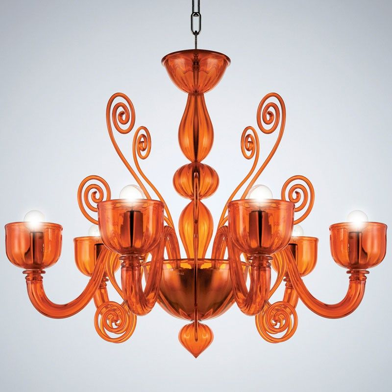 La Murrina - Chandelier Glamour S/6 (Orange) | Lights | Pinterest ...