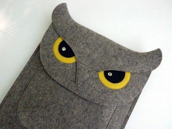 felt case - Owl