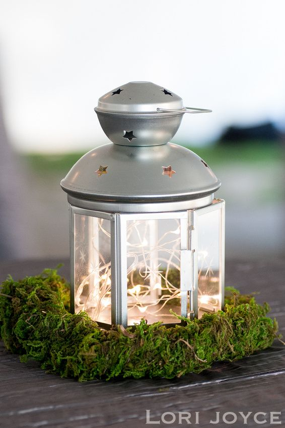 Retake on the ikea lantern fairy lights and preserved for Ikea twinkle lights