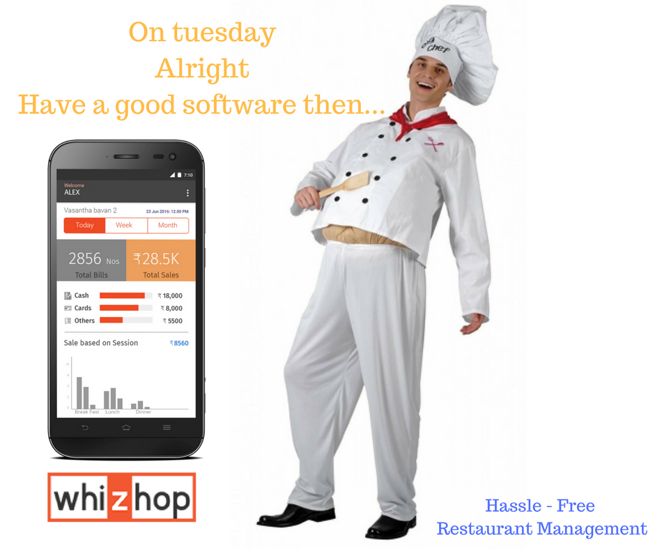 We are the best Software for Restaurant, food and beverage