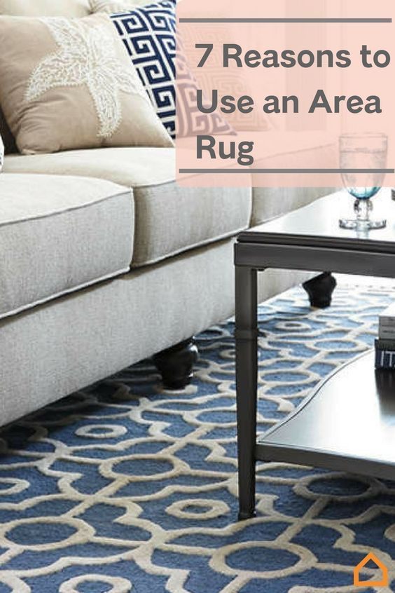 Area rugs can be the difference between a dull room and a dream room!
