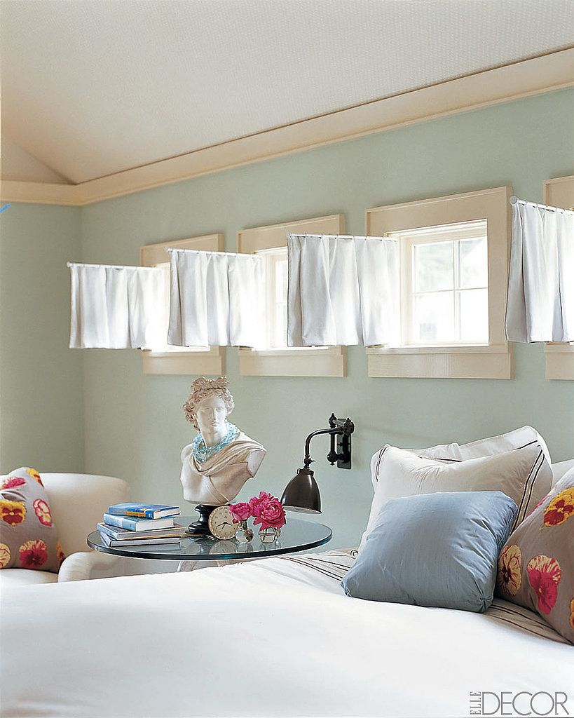 How to Dress Your Most Awkward Windows   Small window curtains ...