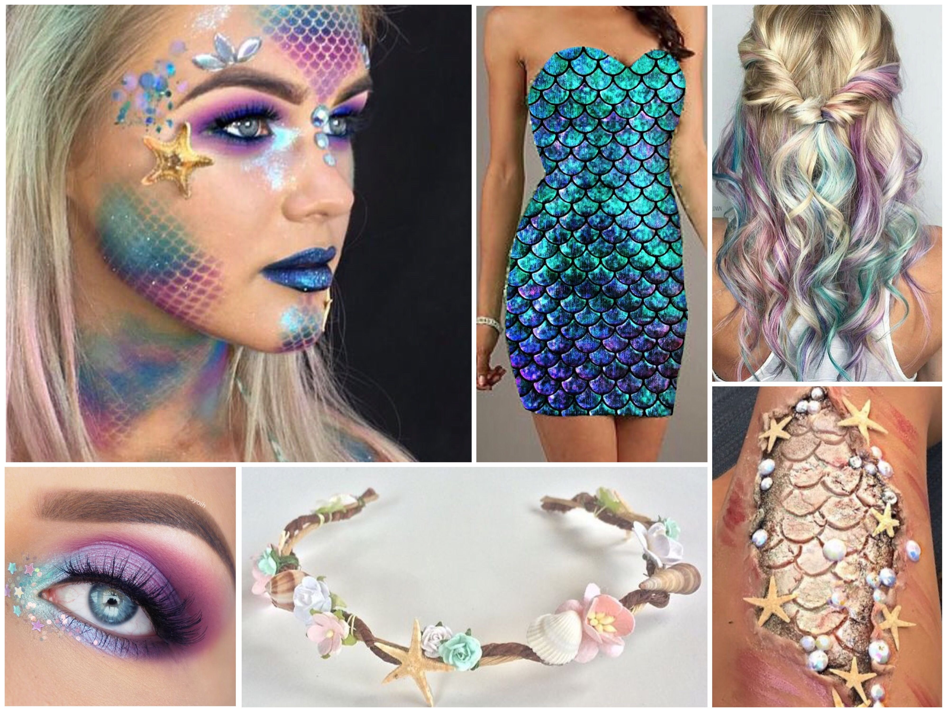 Pin By Olivia Van Eyk On Underwater Mermaid Makeup Halloween Mermaid Makeup Fairy Makeup