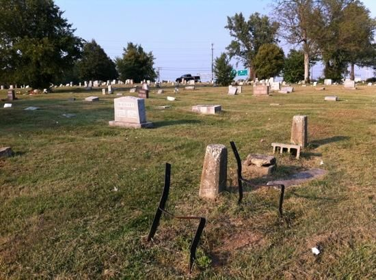 Greenhill Cemetery contains monuments to KY's black Civil War soldiers.