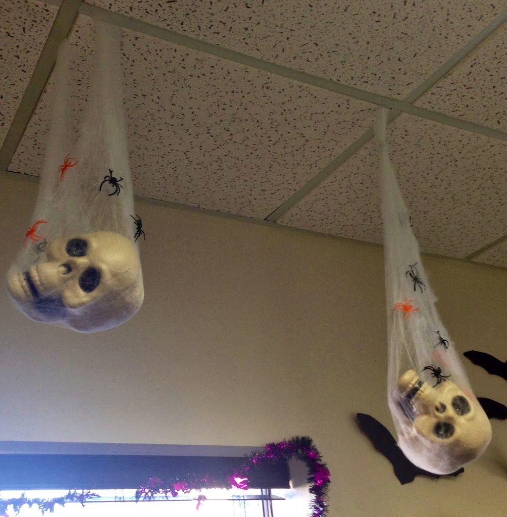 12 Easy Diy Halloween Decorations Halloween Office Office