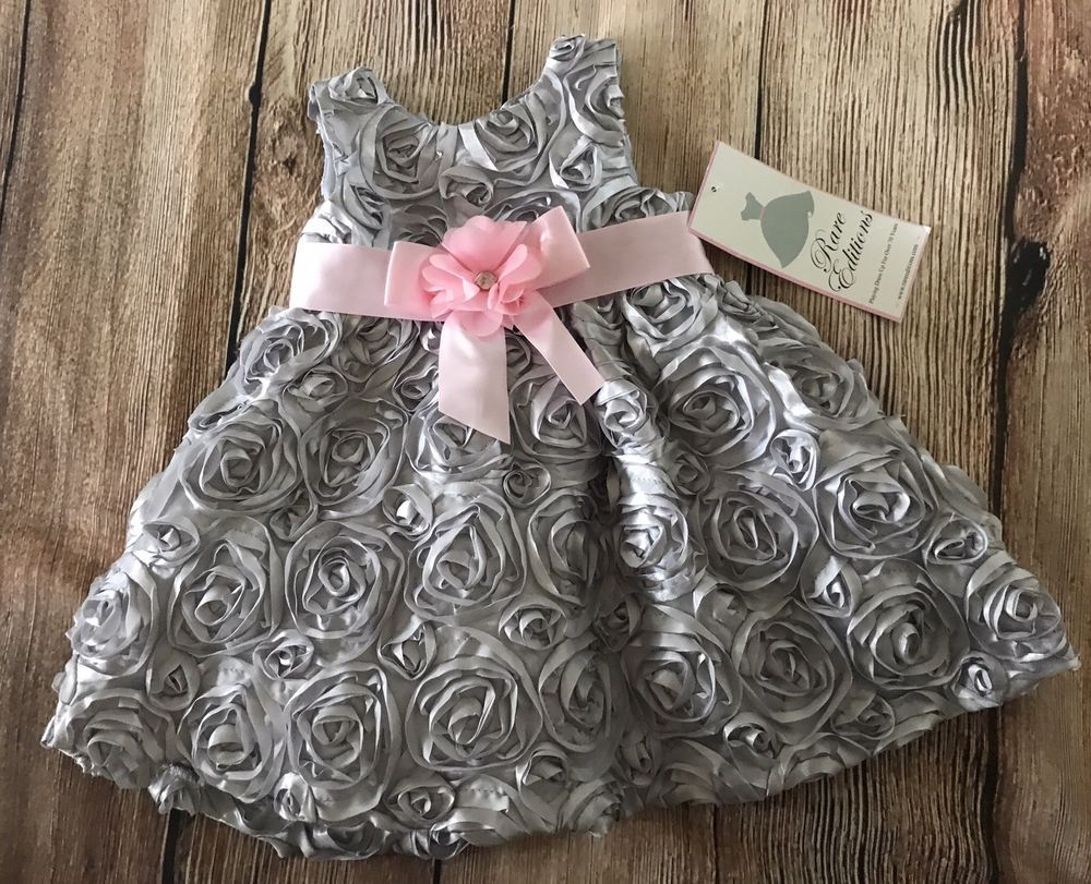 infant toddler girl holiday fancy easter christmas dress