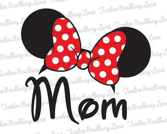 Ears Diy Disney Template Shirt