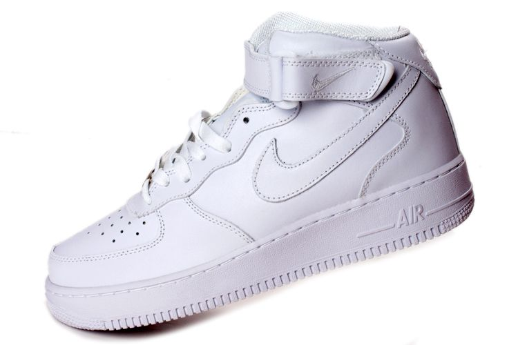 newest 32062 83ef8 mens white nike high tops shoes  Nike Air Force One high-top white couple  models 315123-111 .
