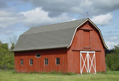 Use these tips for building the perfect barn for your farm for Red barn prefab