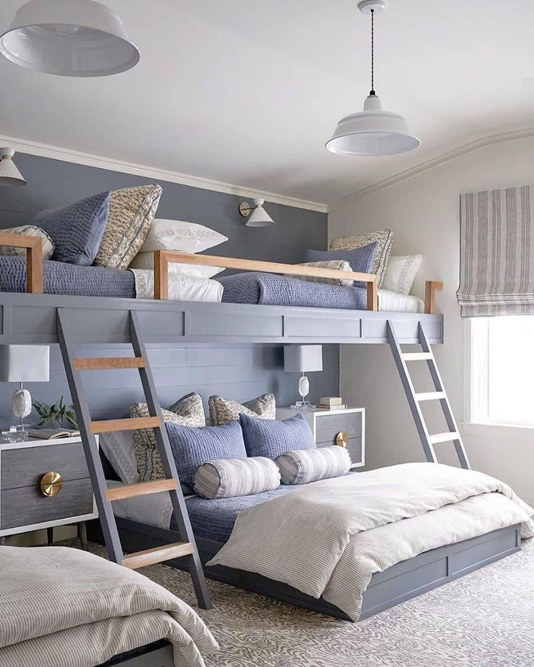 "Passion for Blue and White on Instagram ""Bunk beds are"