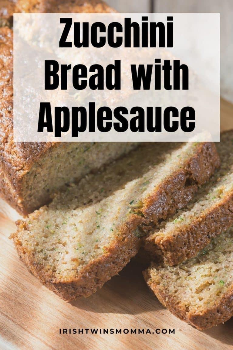 Zucchini Bread With Applesauce Saving Mealtime Recipe In 2020 Zucchini Bread Recipes Zucchini Bread Healthy Zucchini Bread
