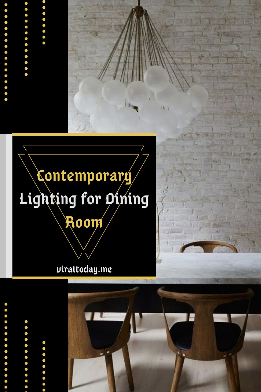 Proper lighting is a key ingredient of a perfect dining room #diningroomideas #diningroomtable #modern #contemporarylightingfordiningroom #traditional #farmhouse #cozydiningroom #smalldiningroom #homedecor #homedesign